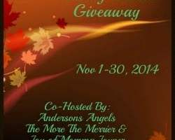 Blogger Opp: Giving Thanks Group Giveaway!