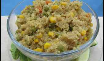 Healthy and Fast Quinoa Dinner! #12daysof