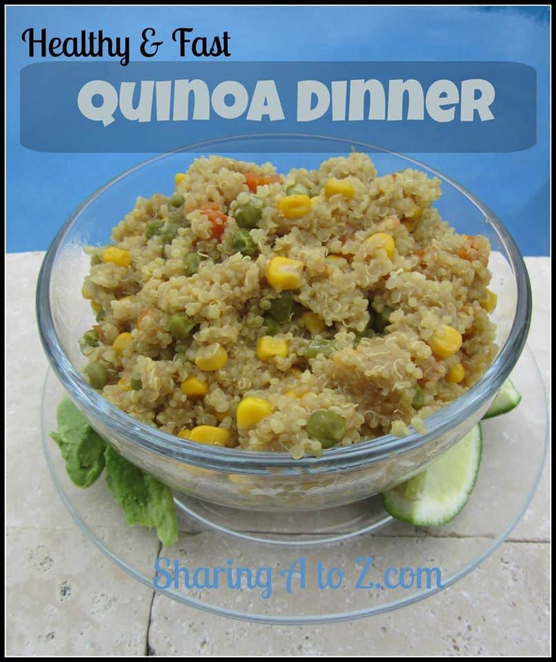 Healthy and Fast Quinoa Dinner