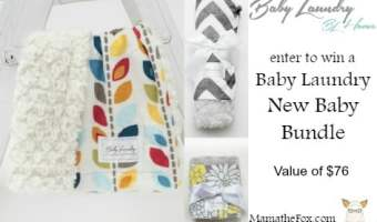 Baby Laundry New Baby Bundle Giveaway!