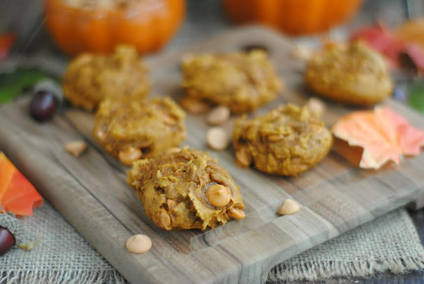 Pumpkin Spice Butterscotch Cookies