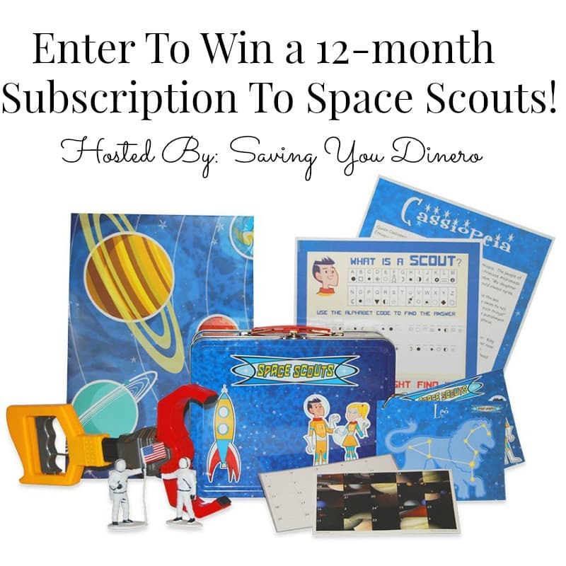 Space Scouts Giveaway Image