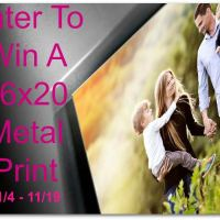 Enter to Win a 16×20″ Metal Print from AdormaPix #2015HGG Ends 11/19
