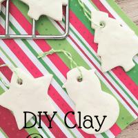 DIY Clay Christmas Ornaments. #DIY #Christmas