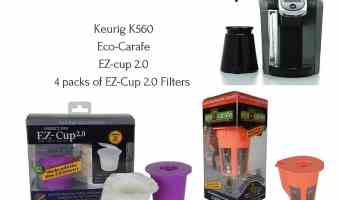 Win a Prize Pack from EZ Cup