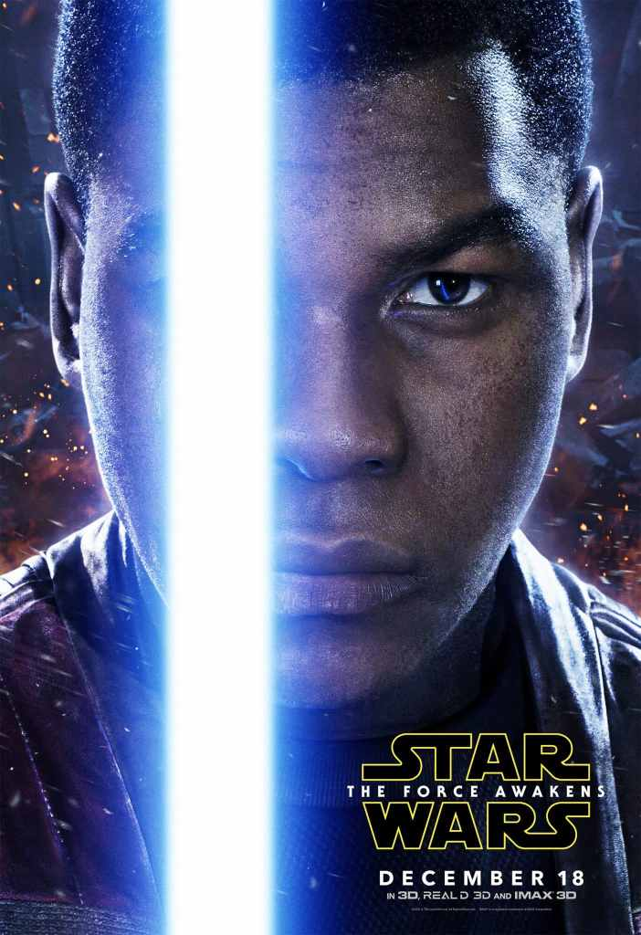 Finn Star Wars Poster! Star Wars: The Force Awakens in theaters 12/18/15
