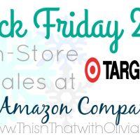 Target Black Friday 2015 Deals #BlackFriday