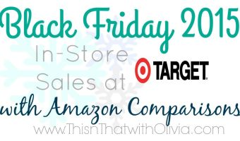 Target Black Friday 2015 Deals
