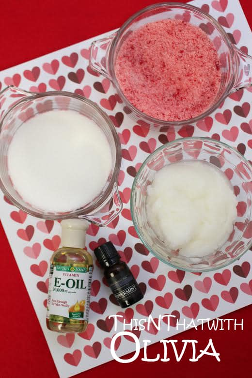 Homemade Whipped Peppermint Body Scrub