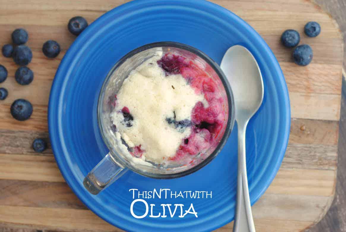 Blueberry Muffin Mug 6