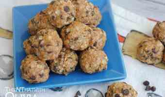 Chocolate Chip Almond Energy Bites