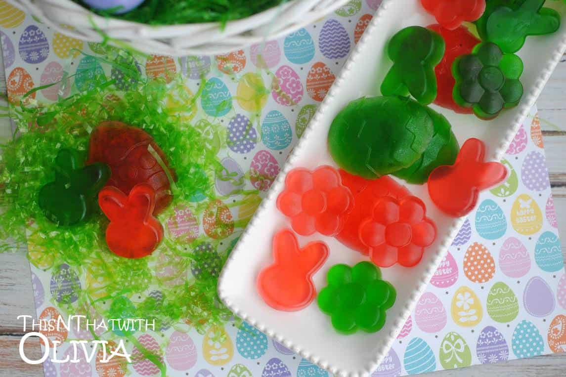 Homemade Easter Gummy Candies! #12daysof
