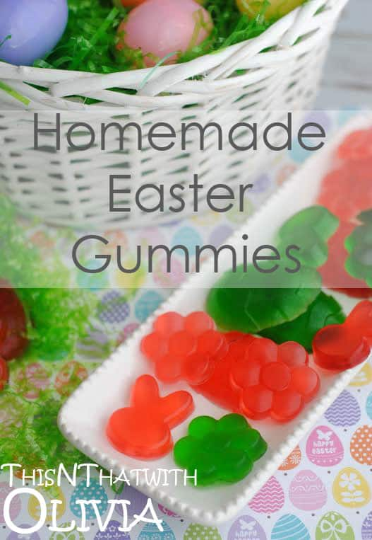 Homemade Easter Gummies