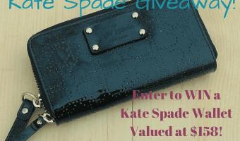 Enter to win a Kate Spade Wristlet!
