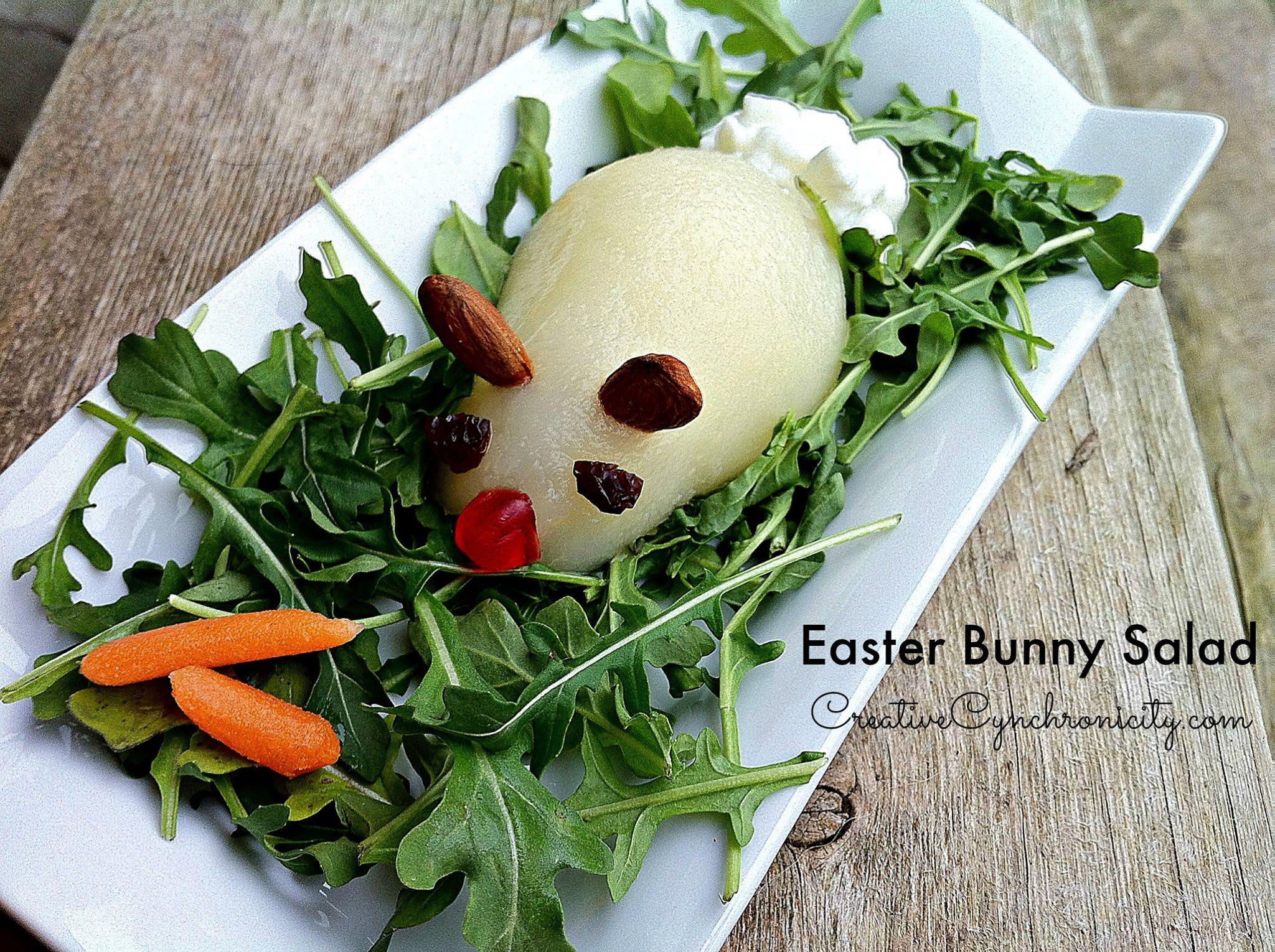 Easter Bunny Salad #12daysof