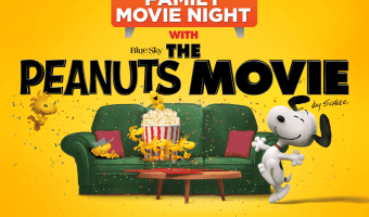 Peanuts Movie Night