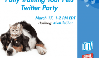 "You're Invited to ""Dealing with Pet MessesTwitter Party"" 