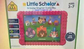 Enter to win a Little Scholars Tablet!
