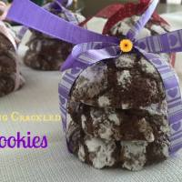 Spring Crackled Cookies #12daysof