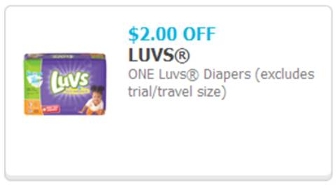 $2 off Luvs Coupon