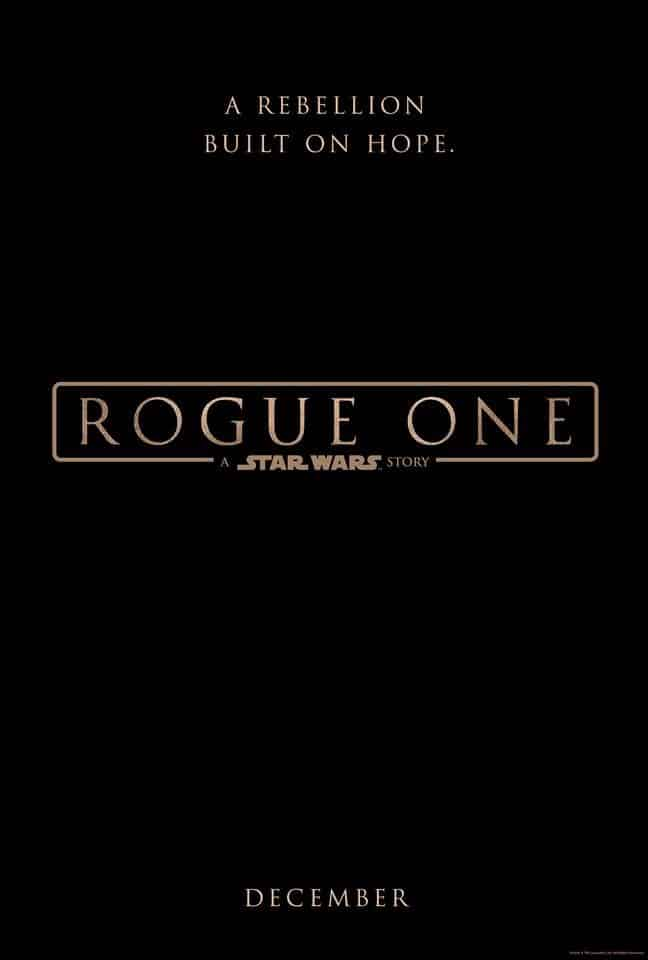 Star Wars: Rogue One #RogueOne