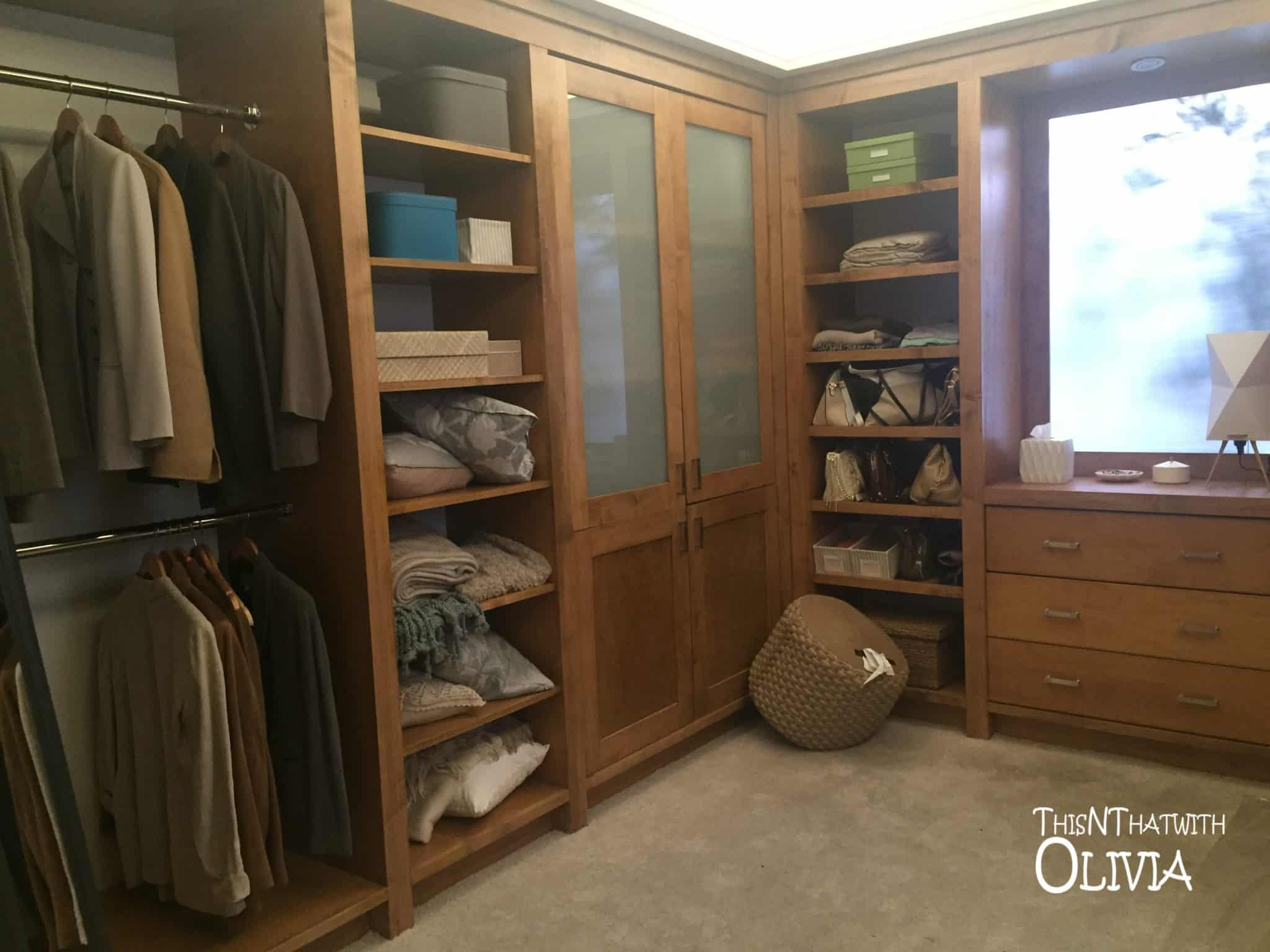 Closet on the set of The Catch