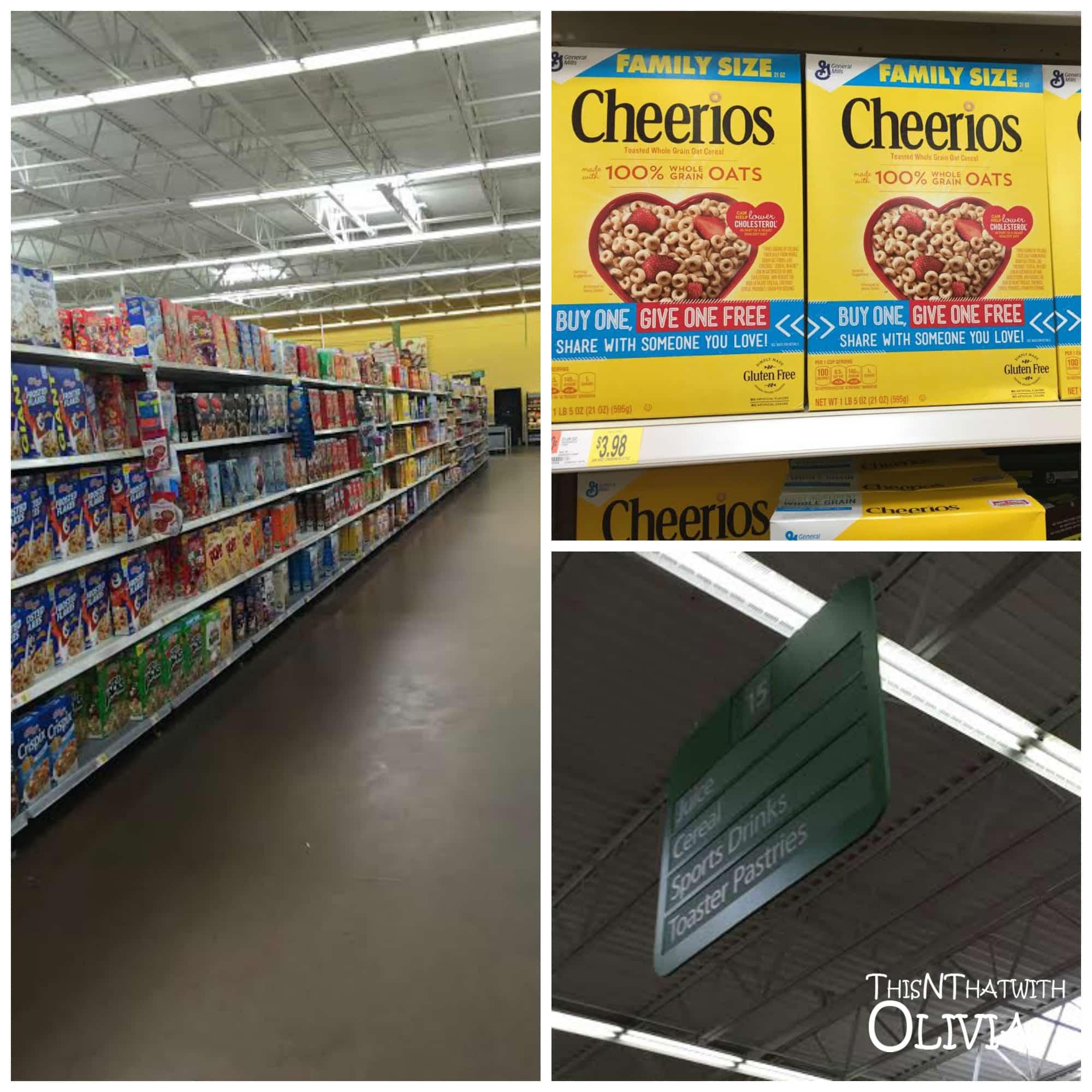 Cheerios Walmart
