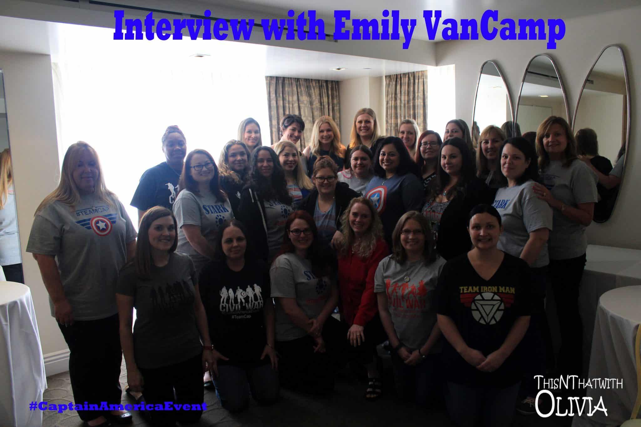 Exclusive Interview with Emily VanCamp #CaptainAmericaEvent
