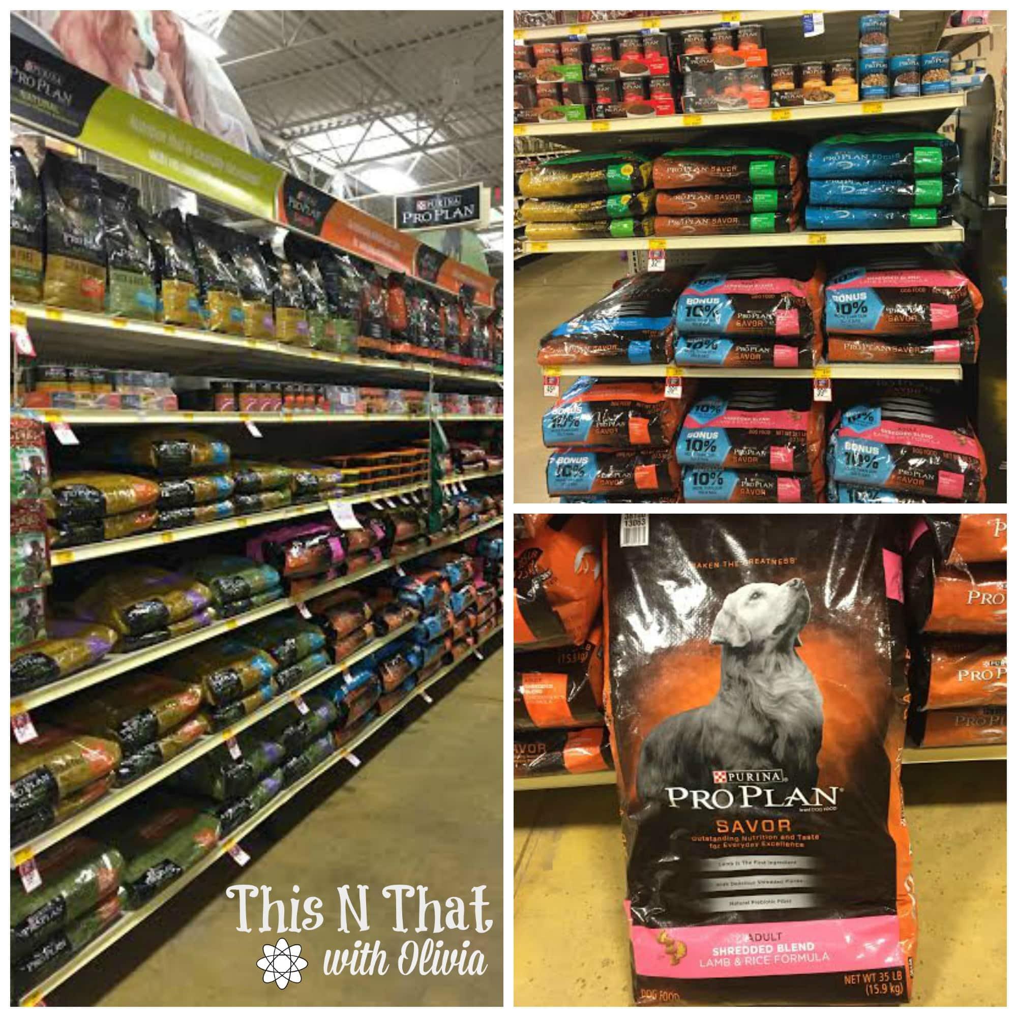 Purina® Pro Plan® Savor® Shredded Blend in PetSmart #PawsToSavor | ThisNThatwithOlivia.com