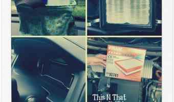 Summer Car Car Kit and DIY Air Filter Change! #SummerCarCare #Ad