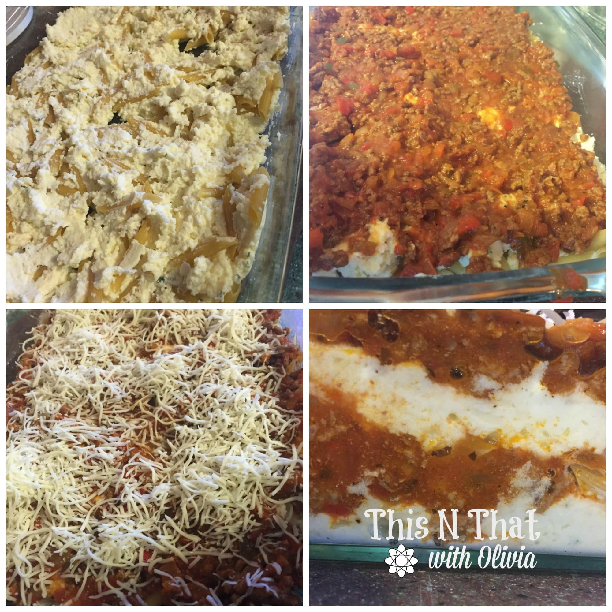 Baked Ziti with Prego® Farmers' Market Sauces #PickedAtPeak #ad | ThisNThatwithOlivia.com