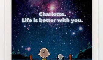 Enter to win a Customizable Peanuts Art Print! #PeanutsAmbassador
