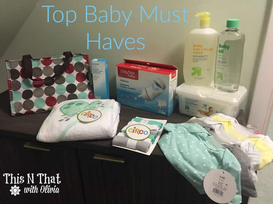 Baby Must Haves for New Moms #MomsHelper