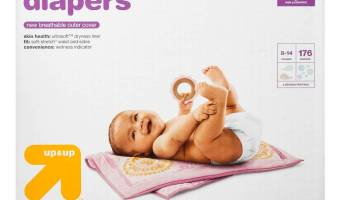 Target: GREAT Deal on Up & Up Diapers!