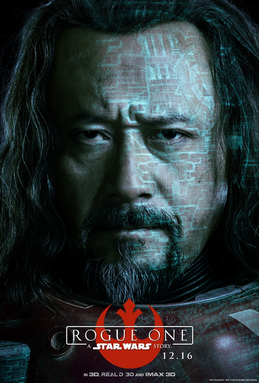 ROGUE ONE: A STAR WARS STORY - Character Posters Now Available!!! #RogueOne