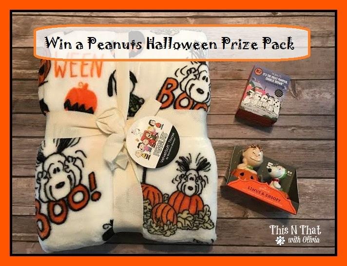 Win a Peanuts Halloween Prize Pack | ThisNThatwithOlivia.com #PeanutsAmbassador