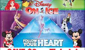 Disney On Ice Comes to Eagle Bank Arena + Discount Offer | ThisNThatwithOlivia.com
