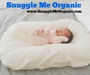Snuggle Me Organic: A Natural Co-Sleeping Bed for Infants @SimplyMommyLLC #2016HGG | ThisNThatwithOlivia.com