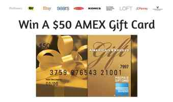Enter to win a $50 AMEX Gift Card from #ShopSmarter | ThisNThatwithOlivia.com