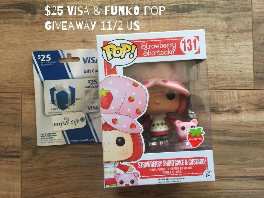 Enter to win a Strawberry Shortcake Gift Set | ThisNThatwithOlivia.com