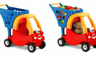 Amazon: Little Tikes Cozy Shopping Cart Only $22.39 (Regularly $40.99)