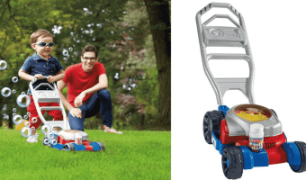 Amazon: Fisher Price Bubble Mower Only $13.27!!