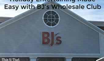 Holiday Entertaining Made Easy with BJ's Wholesale Club! @BJsWholesale #BJsMembershipDrive