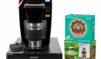 Keurig K15 Single Serve Coffee Maker Holiday Bundle only $79.99 (regular $119.99)!