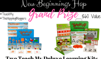 Enter the New Beginnings Giveaway Hop! #TheHoppingBloggers #TeachMy
