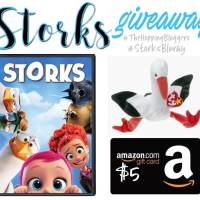 Win a Storks Prize Pack! #StorksBluRay #TheHoppingBloggers