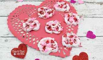 Valentine's Day Dipped Pretzels! #12daysof