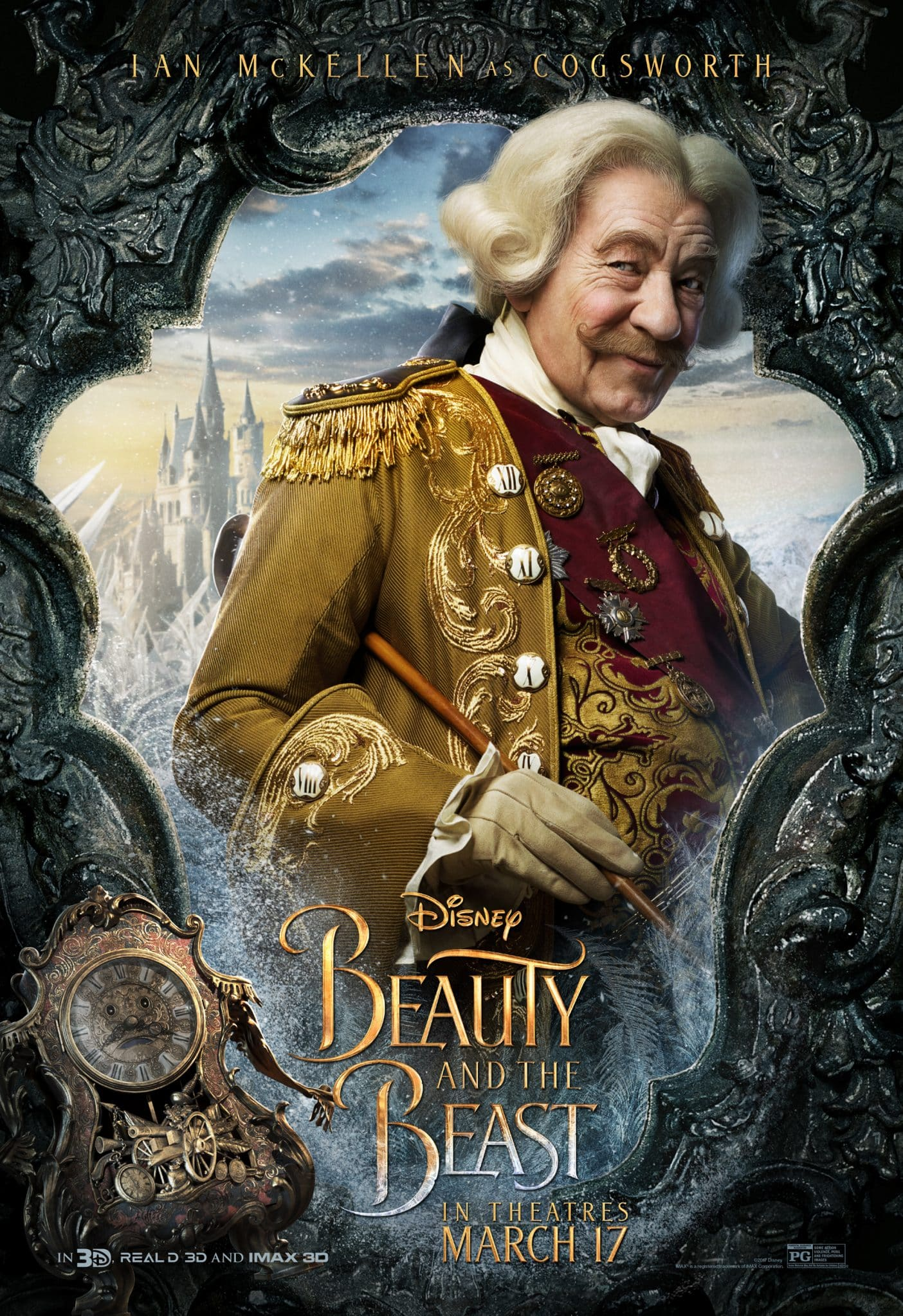 Character Posters for Disney's Beauty And The Beast #BeOurGuest #BeautyAndTheBeast