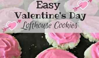 Valentine's Day Lofthouse Cookies #12Daysof
