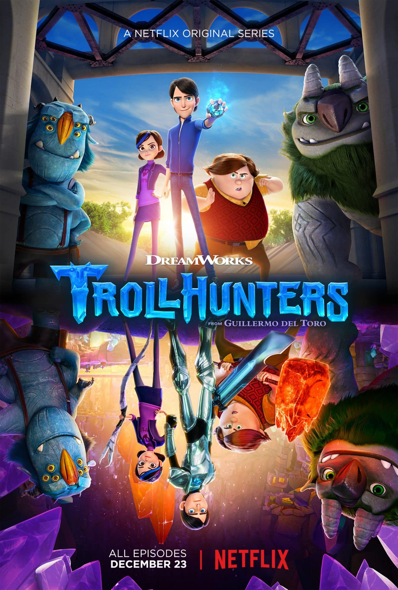Netflix Trollhunters / Stranger Things Mash Up #Trollhunters | ThisNThatwithOlivia.com